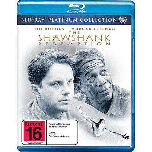 Shawshank Redemption Blu-ray
