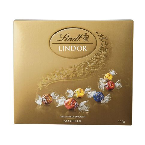 Lindt Lindor Assortment of Chocolates Gift Box 150g