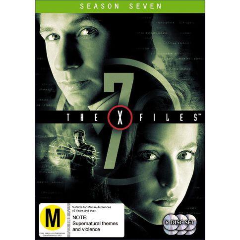 X Files Season 7 DVD 6Disc