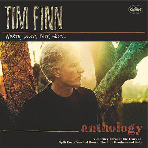 North South East West (Anthology) CD by Tim Finn 2Disc