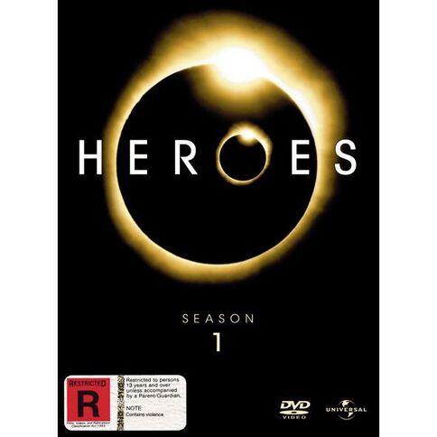 Heroes Season 1 DVD 7Disc