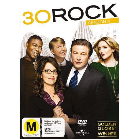 30 Rock Season 4 DVD 3Disc