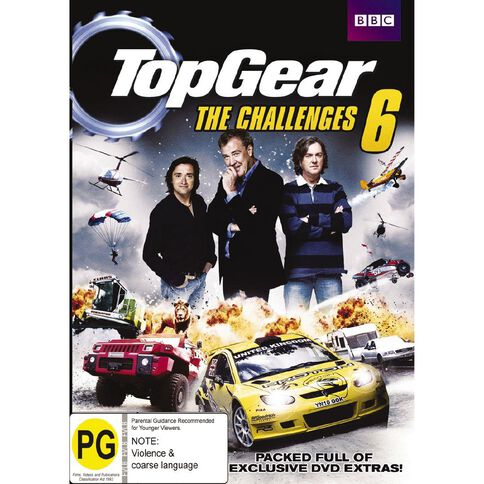 Top Gear Challenges 6 DVD 2Disc