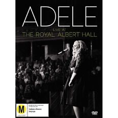 Live At The Royal Albert Hall DVD/CD by Adele 2Disc