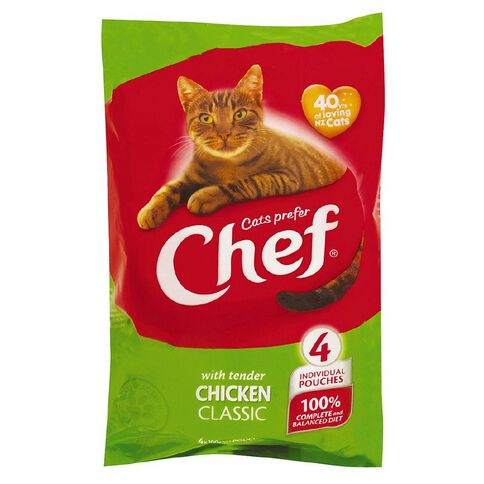 Chef Tender Chicken Pouches 4 Pack