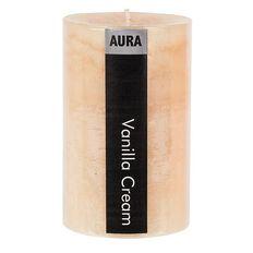Aura Pillar Candle Vanilla 6cm x 10cm