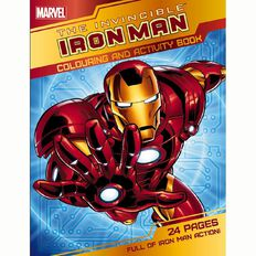 Invincible Ironman Colouring And Activity Book by Marvel