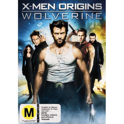 X Men Origins Wolverin DVD 1Disc