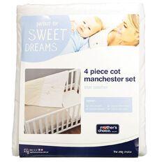 Mother's Choice Star Catcher Manchester Set 4 Pack Cream
