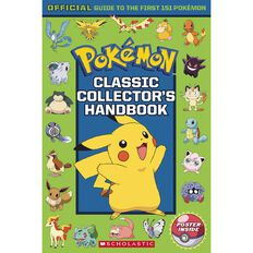 Pokemon Classic Collectors Handbook