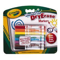 Crayola Dry Erase Skinny Markers 8 Pack