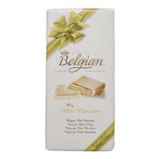 Belgian White Chocolate 200g