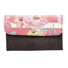 Paper Scissors Rock Wallet PU Summer Flowers 15cm x 9cm