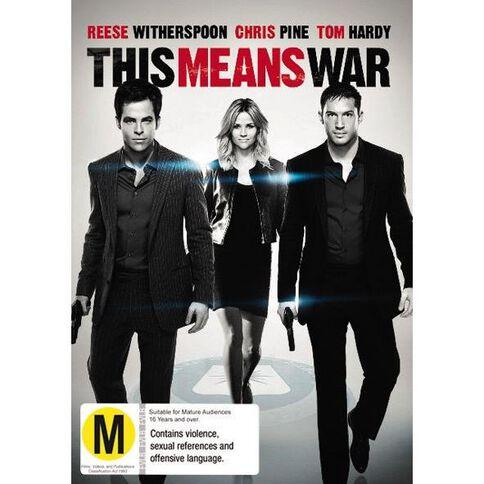 This Means War DVD 1Disc