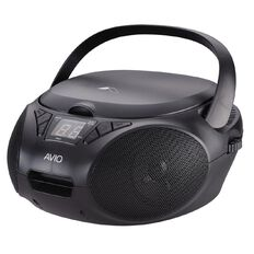 Avio CD Boombox Black
