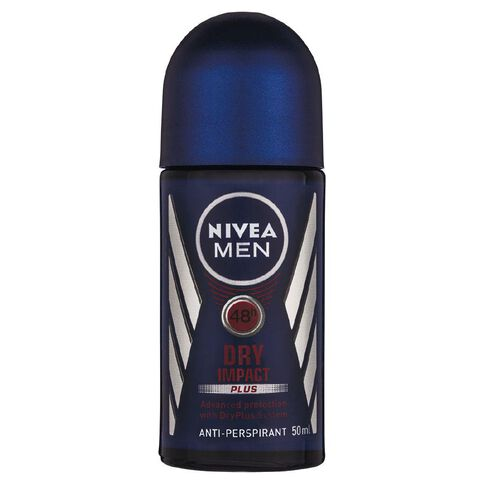 Nivea For Men Roll On Deodorant Dry Impact 50ml
