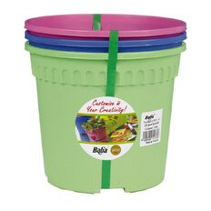 Baba Coloured Pot 3 Pack