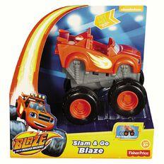 Blaze Fisher-Price Slam & Go Speeder Assorted