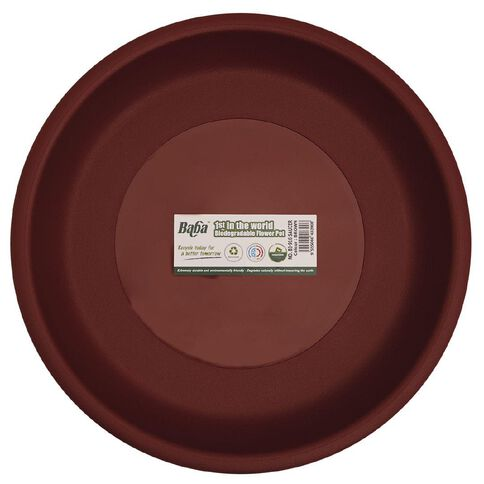 Baba Plant Saucer 916 Terracotta 32cm