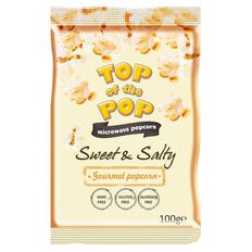 Top of the Pops Microwave Popcorn Sweet & Salty 100g