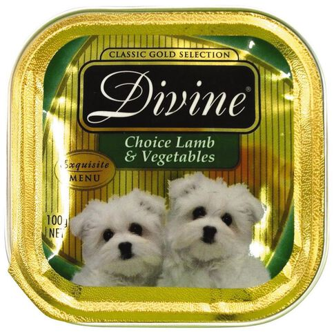 Divine Dog Choice Lamb & Vegetables 100g