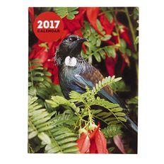 Calendar 2017 NZ Floral Pocket 90mm x 120mm