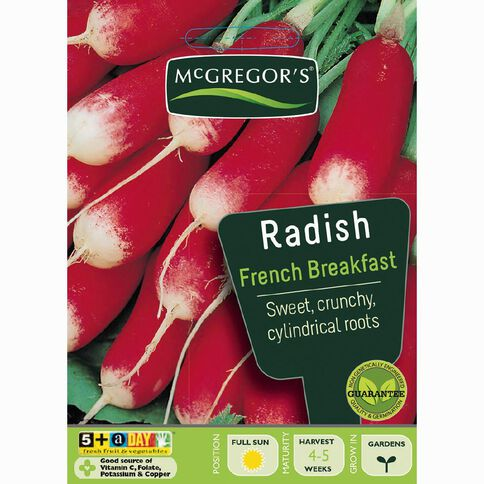 McGregor's French Breakfast Radish Vegetable Seeds