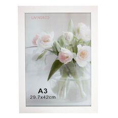 Living & Co Frame White A3 30cm x 42cm