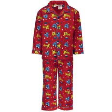 Basics Brand Infant Boys' Packaged Flannelette Pyjamas