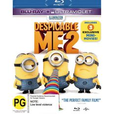 Despicable Me 2 Blu-ray 1Disc