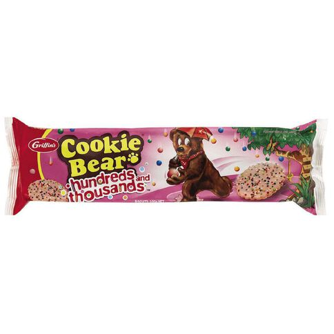 Griffin's Cookie Bear 100s and 1000s 200g