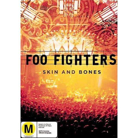 Foo Fighters Skin and Bones DVD 1Disc