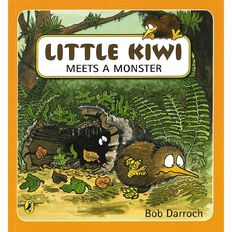 Little Kiwi Meets a Monster Storybook by Bob Darroch