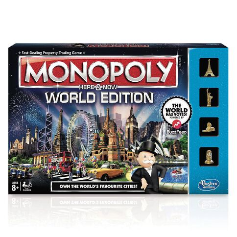 Monopoly World Vote Here and Now