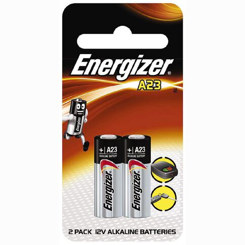 Energizer Specialty Battery A23 12Volt 2 Pack