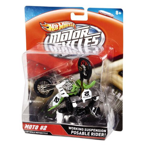 Hot Wheels Motorbike with Rider Assorted