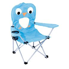 Kids Caboodle Camping Chair with Animal Face Assorted