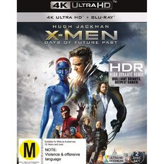 X Men Days of Future Past 4K Blu-ray 1Disc
