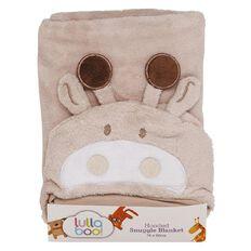 Lullaboo Hooded Snuggle Blanket Unisex
