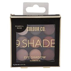 Colour Co. Eyeshadow Palette 9 Nude