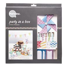 Party Inc Party in a Box Bright Colours 108 Pack