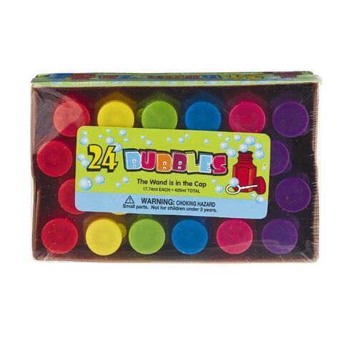 Unique Party Favours Bubbles 24 Pack