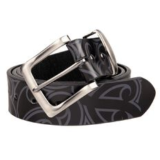 Haka Men's Embossed Belt
