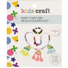 Kids' Art & Craft Make Your Own Holiday Necklace & Bracelet