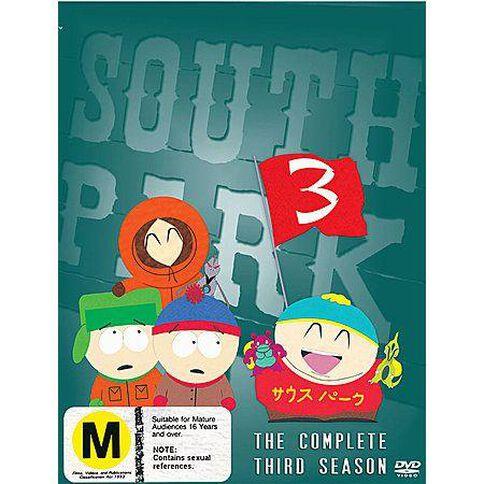 South Park Season 3 DVD 3Disc