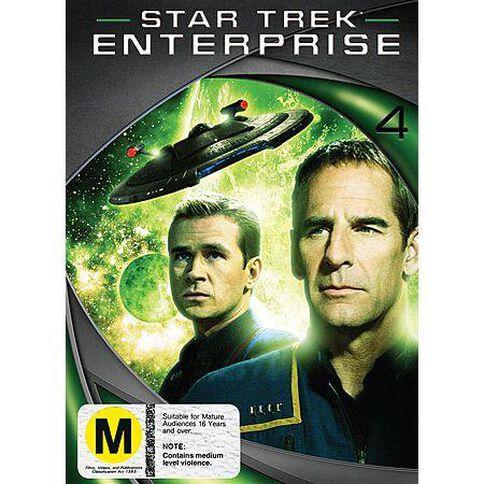 Star Trek Enterprise Season 4 DVD 1Disc