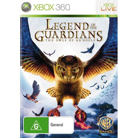 Xbox360 Legends of the Guardians Owls of Ga Hoole