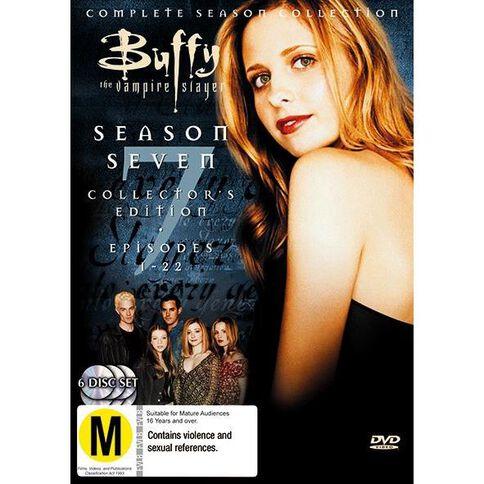 Buffy Season 7 Collection DVD 1Disc