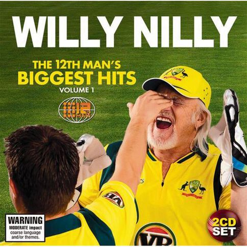 Willy Nilly The 12th Mans Biggest Hits Volume 1 CD by The 12th Man 2Disc