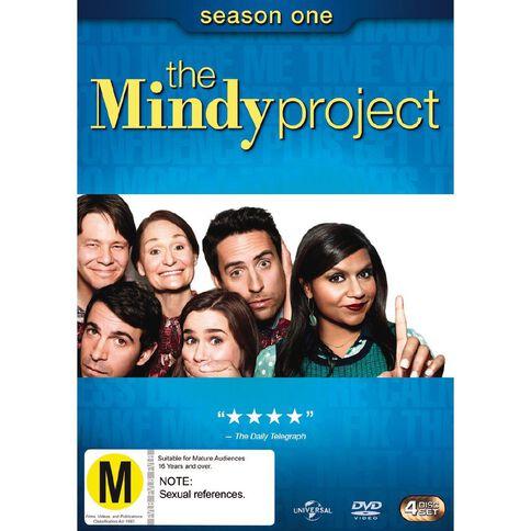 The Mindy Project Season 1 DVD 4Disc